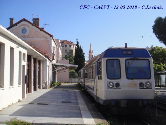 CFC - Chemins de fer de la Corse - de Calvi à l'ile Rousse 515_ca10