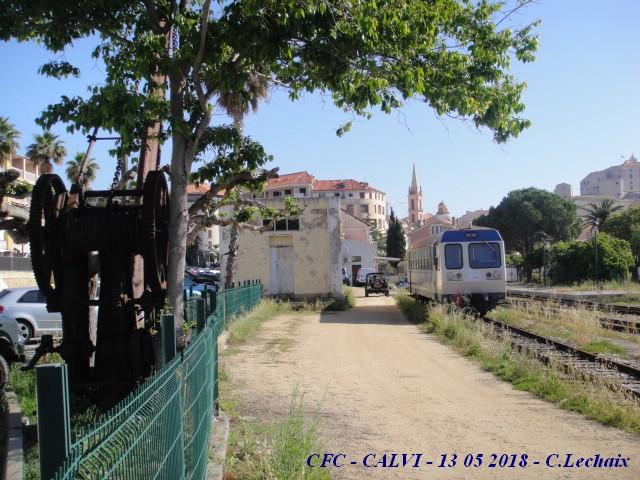 CFC - Chemins de fer de la Corse - de Calvi à l'ile Rousse 516_ca10