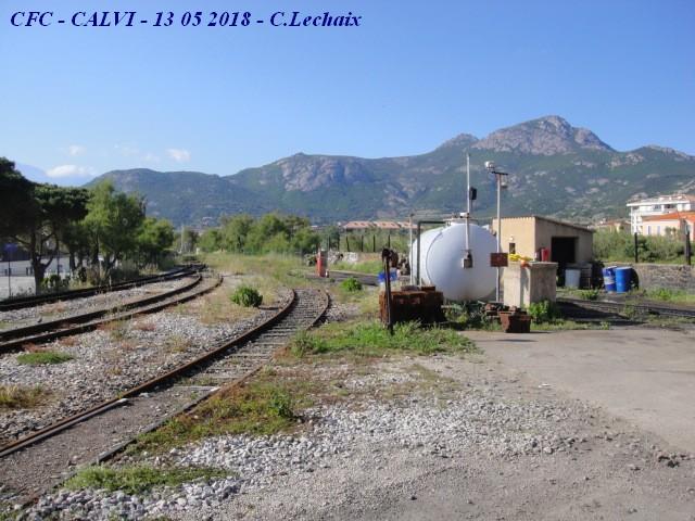 CFC - Chemins de fer de la Corse - de Calvi à l'ile Rousse 517_ca10
