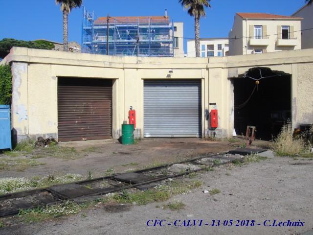 CFC - Chemins de fer de la Corse - de Calvi à l'ile Rousse 518_ca16