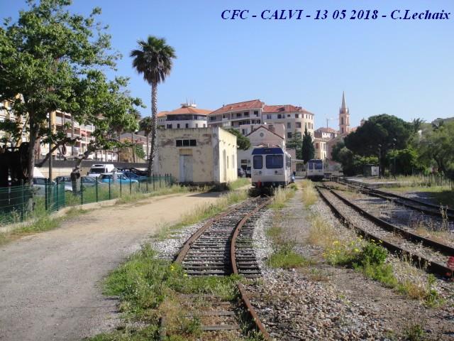 CFC - Chemins de fer de la Corse - de Calvi à l'ile Rousse 519_ca12