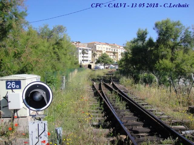 CFC - Chemins de fer de la Corse - de Calvi à l'ile Rousse 520_ca10