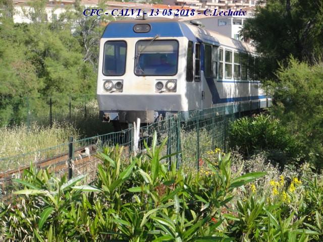 CFC - Chemins de fer de la Corse - de Calvi à l'ile Rousse 521_ca10