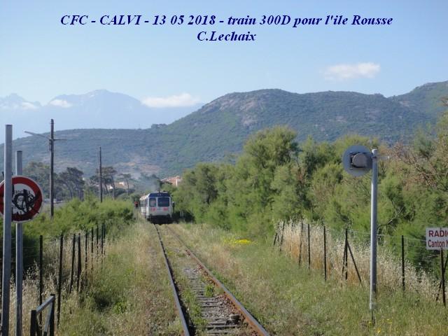 CFC - Chemins de fer de la Corse - de Calvi à l'ile Rousse 523_ca10