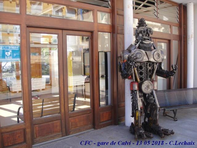 CFC - Chemins de fer de la Corse - de Calvi à l'ile Rousse 524_ca10