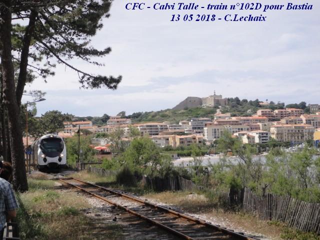CFC - Chemins de fer de la Corse - de Calvi à l'ile Rousse 525_ca10