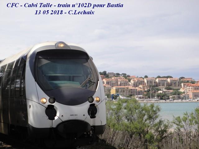 CFC - Chemins de fer de la Corse - de Calvi à l'ile Rousse 526_ca10