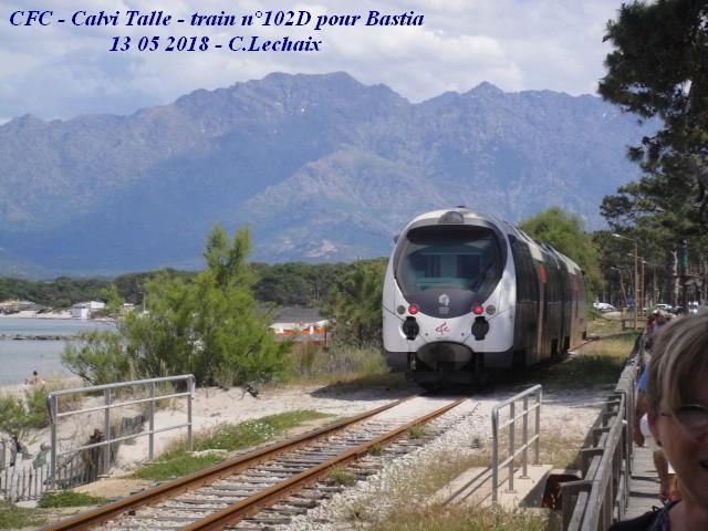 CFC - Chemins de fer de la Corse - de Calvi à l'ile Rousse 527_ca10