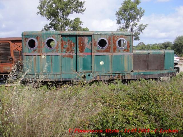 CFC - Chemins de fer de la Corse - de Calvi à l'ile Rousse 549_dr10