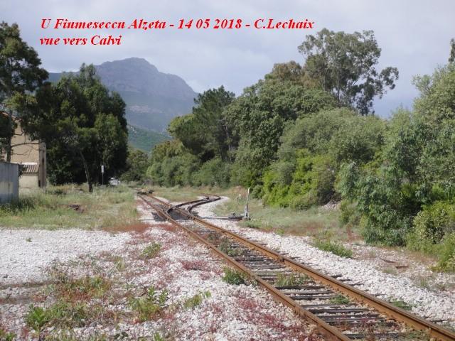 CFC - Chemins de fer de la Corse - de Calvi à l'ile Rousse 552_bv10