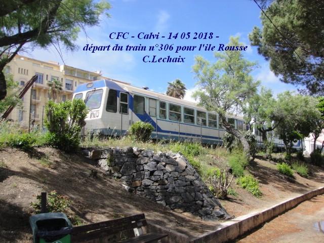 CFC - Chemins de fer de la Corse - de Calvi à l'ile Rousse 559_ca10