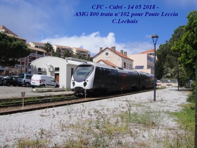 CFC - Chemins de fer de la Corse - de Calvi à l'ile Rousse 560_ca10