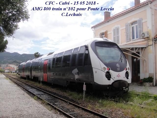 CFC - Chemins de fer de la Corse - de Calvi à l'ile Rousse 571_ca10