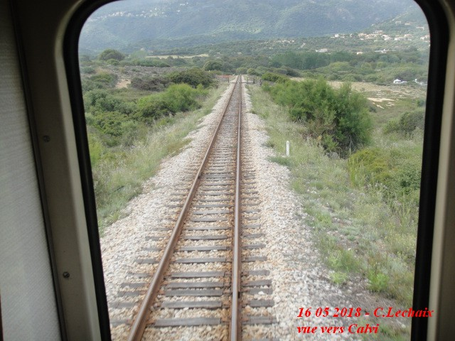 CFC - Chemins de fer de la Corse - de Calvi à l'ile Rousse 590_li10