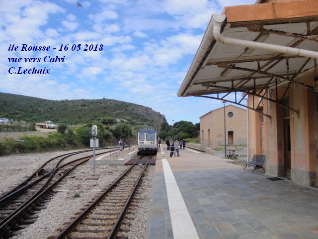 CFC - Chemins de fer de la Corse - de Calvi à l'ile Rousse 598_il10