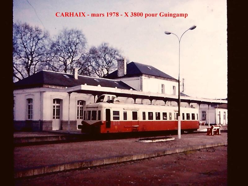 40 ans en arriere ! Carhaix Guingamp Paimpol en Picasso Carhai10