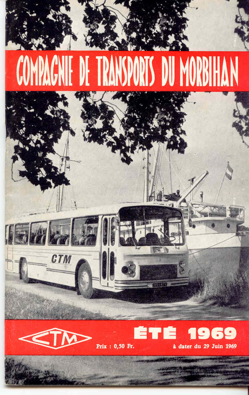 Transversale Saint Brieuc - Pontivy - Auray Chaix hiver 1974 - 1975 Ctm_yt10