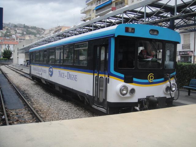 Chemins de fer de Provence Nice - Digne octobre 2016 Dsc07910