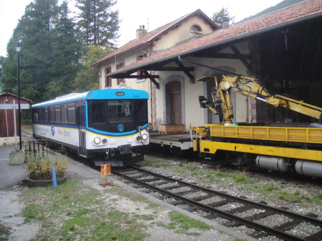 Chemins de fer de Provence Nice - Digne octobre 2016 Dsc07918