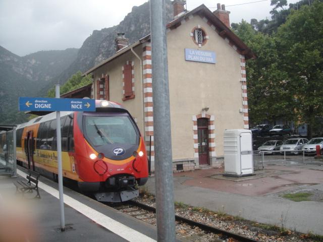 Chemins de fer de Provence Nice - Digne octobre 2016 Dsc07921