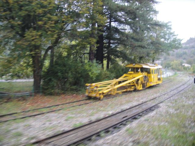 Chemins de fer de Provence Nice - Digne octobre 2016 Dsc07925