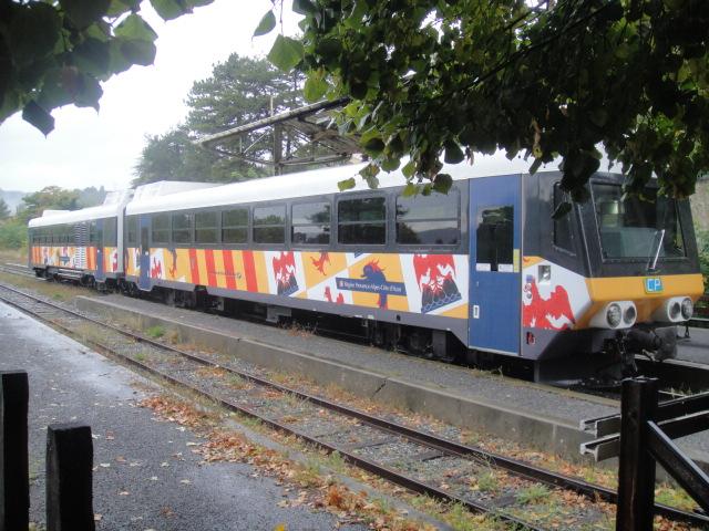 Chemins de fer de Provence Nice - Digne octobre 2016 Dsc08013