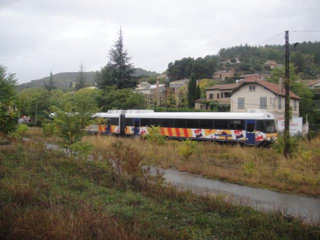 Chemins de fer de Provence Nice - Digne octobre 2016 Dsc08024
