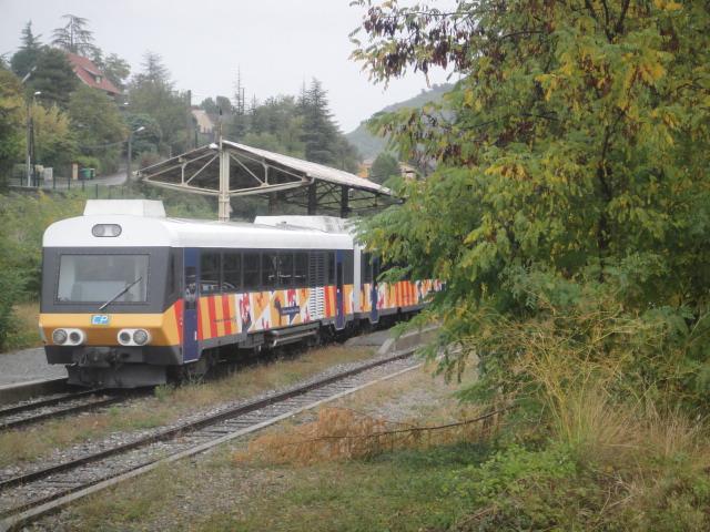 Chemins de fer de Provence Nice - Digne octobre 2016 Dsc08032