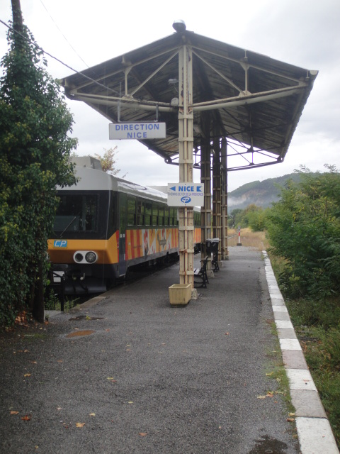 Chemins de fer de Provence Nice - Digne octobre 2016 Dsc08038