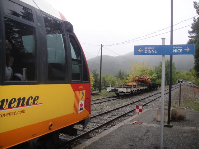 Chemins de fer de Provence Nice - Digne octobre 2016 Dsc08043
