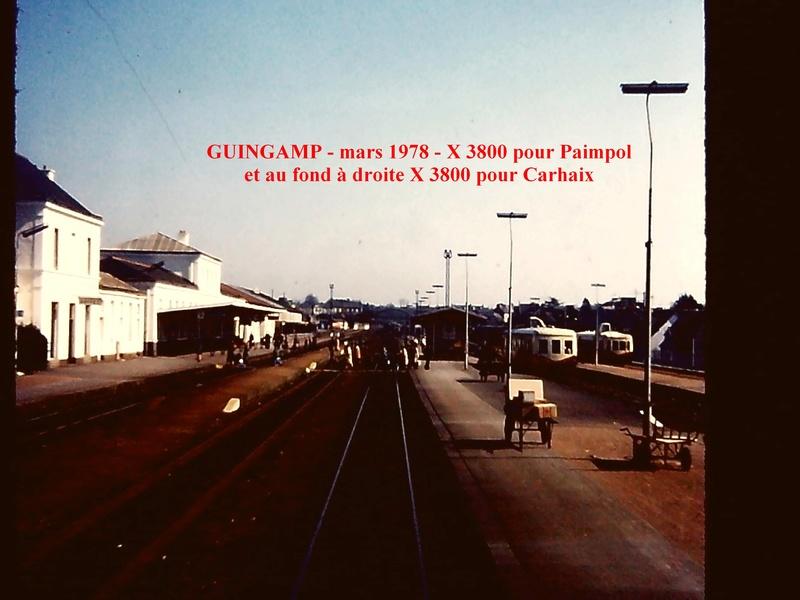 40 ans en arriere ! Carhaix Guingamp Paimpol en Picasso Guinga10