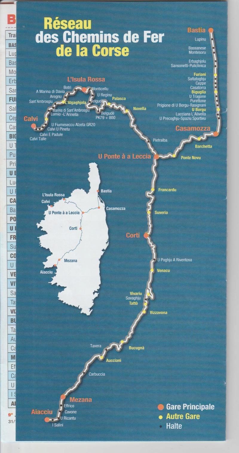 CFC - Chemins de fer de la Corse - de Calvi à l'ile Rousse Image_59