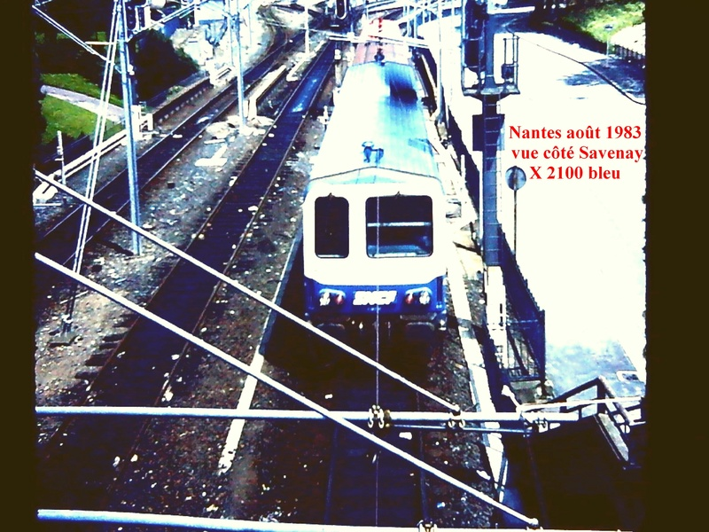 en gare de Nantes en février 1983 Nantes13