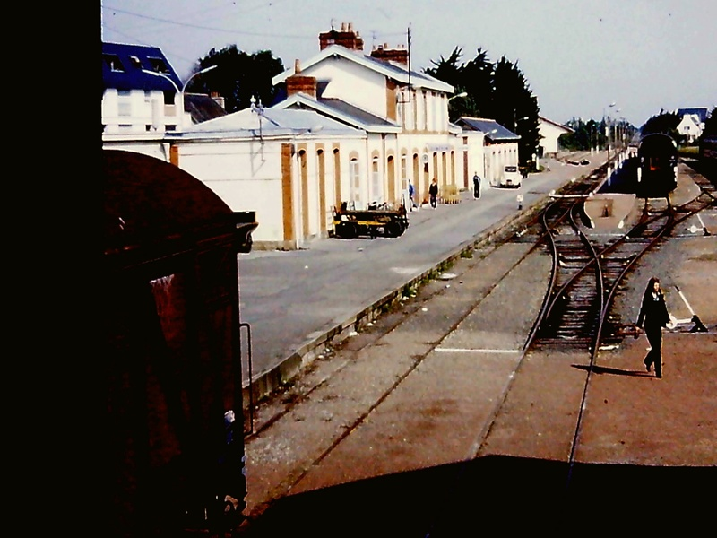 Quiberon en août 1980 au temps des Corails Nimofi11