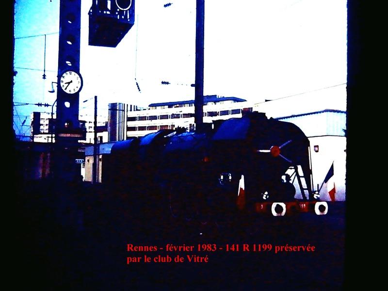 en gare de Rennes en février 1983 Rennes10