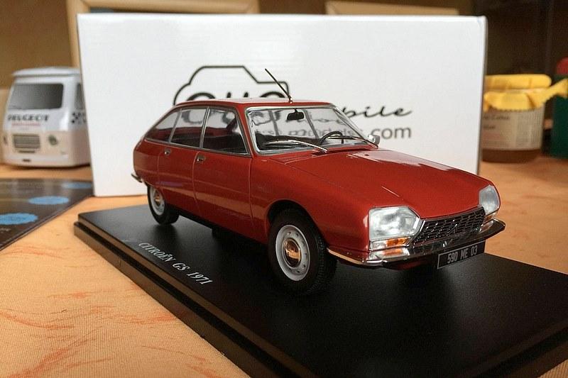 2018 - Hachette Collections > Test : Citroën au 1/24 25994910