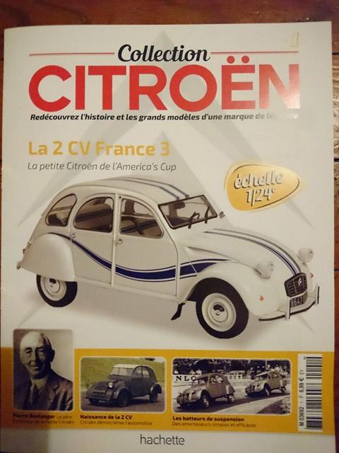 2018 - Hachette Collections > Test : Citroën au 1/24 26241710