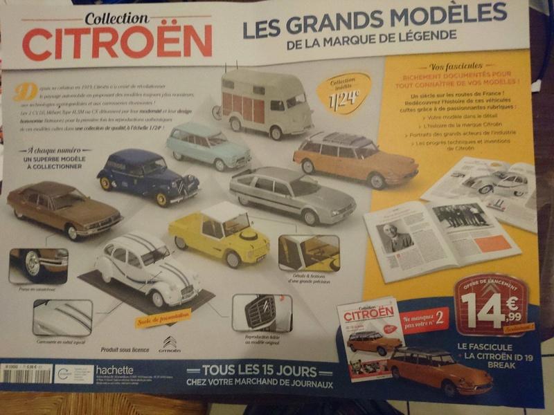 2018 - Hachette Collections > Test : Citroën au 1/24 26613610