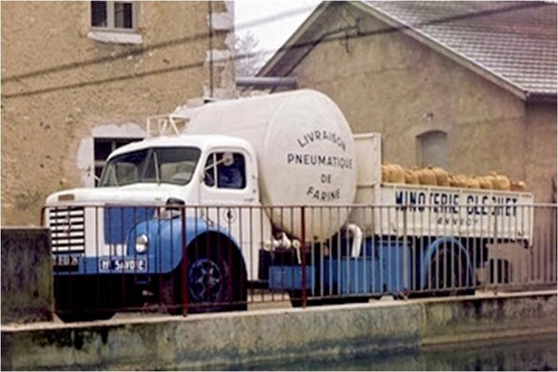 """N°14 - Berliet GLR 8M2 1960  """"Minoterie Clechet""""  32683910"""