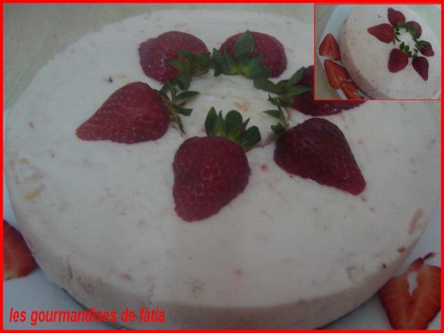 cheesecake aux fraises Dsc02914