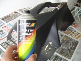 Pintura de motos em spray. Ssa46022