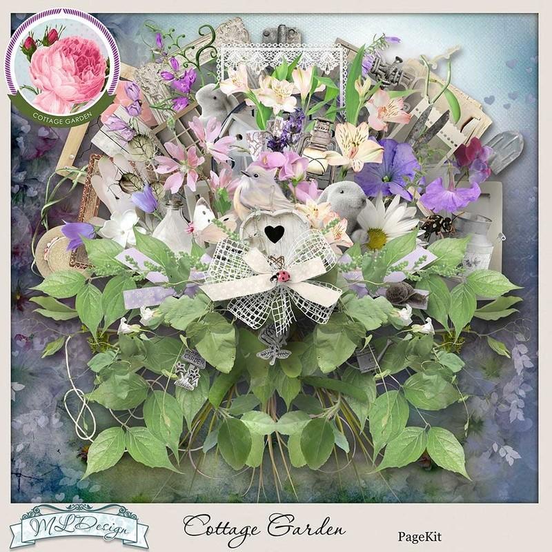 Cottage garden 1er mai en boutique à studio Mldes216