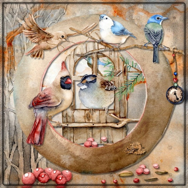 sur le thème des oiseaux Oiseau10