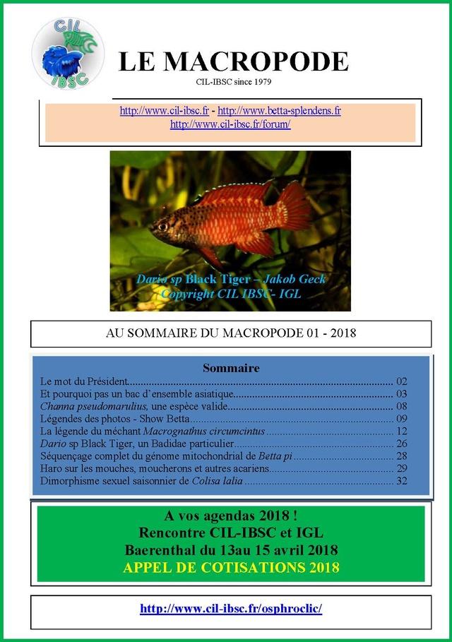 Sommaire de la revue du Macropode. - Page 3 2018-010