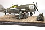 "brille - [Concours ""ça brille""] Ki-44 II - Hasegawa - 1/32  (École de chasse d'AkEno) T7_nef11"