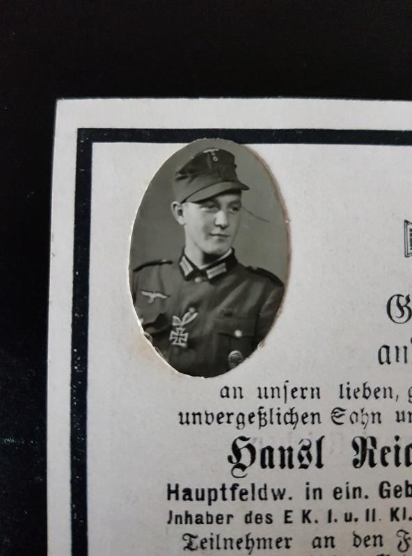 Tract + billets + avis mortuaires allemands 20180121