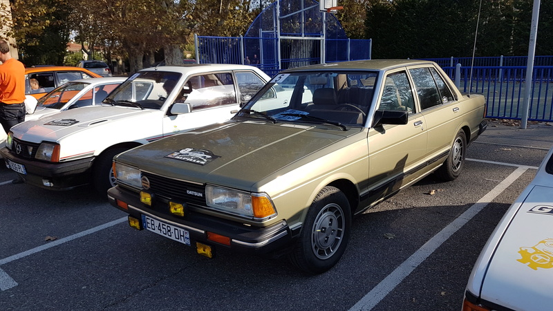 Datsun Bluebird 2.0l injection de  1983  20171010