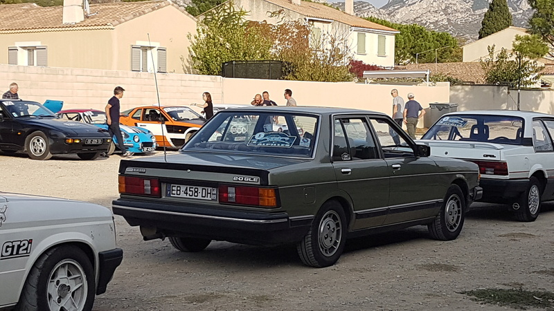 Datsun Bluebird 2.0l injection de  1983  20171012