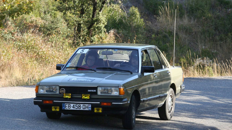 Datsun Bluebird 2.0l injection de  1983  Screen13