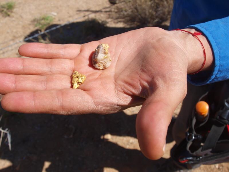 busqueda de pepitas de oro en Sonora 2018 Ol035510